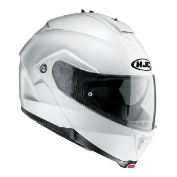 HJC IS-Max 2 Flip Front Modular Motorcycle Motorbike Helmet White - X Small